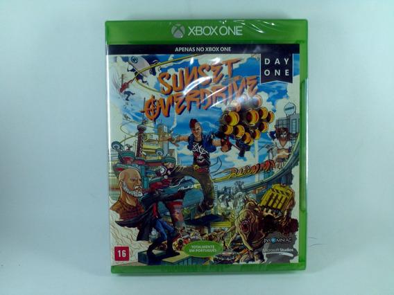 Jogo Xbox One Sunset Overdrive Lacrado Português