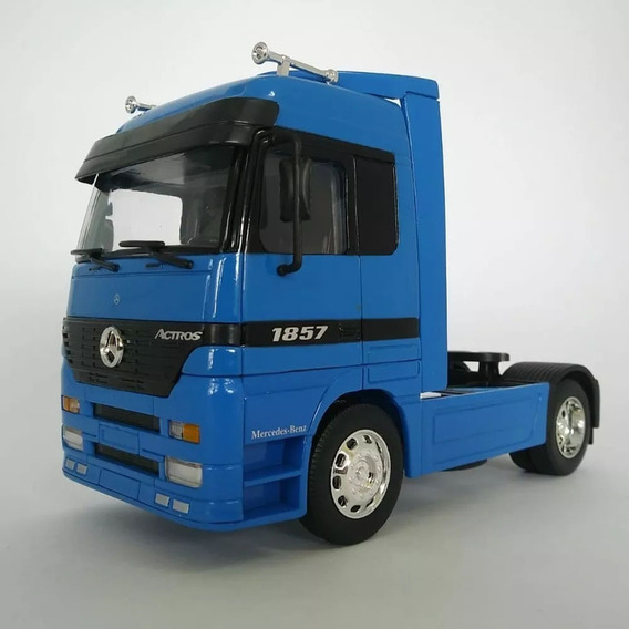 Miniatura Caminhão Mercedes-benz Actros Toco 4x2 Escala 1:32