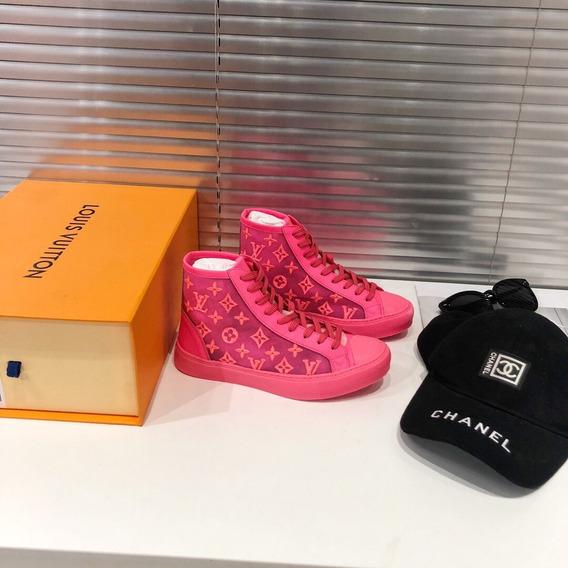 Tênis Louis Vuitton Lv Tattoo Sneaker 22