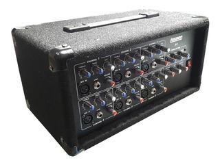 Potencia Consola Mixer Amplificador Lexsen A6 150wrms 6ch