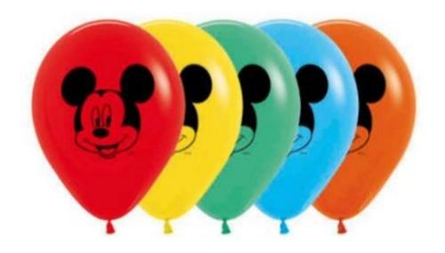 Globos R-12 Imp Mickey Mouse F Surt X 10 - Sempertex