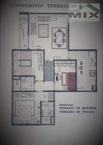 Imagem 1 de 15 de Apartamento Em Planalto - São Bernardo Do Campo, Sp - 3463