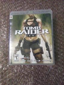 Tomb Raider Underworld Ps3 Mídia Física Seminovo Com Manual