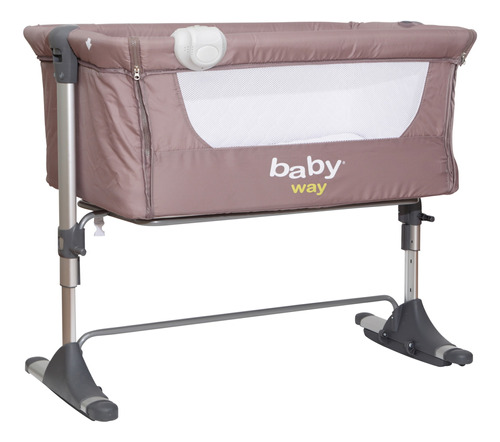 Cuna Colecho Rn Baby Way Bw-613 Gris