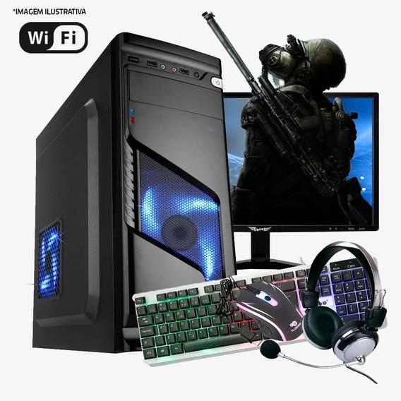 Pc Gamer I5 4ª, 16gb Ram, Hd Ssd 120gb, Gtx1060 6gb Completo