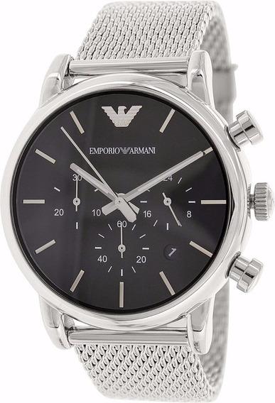 Relógio Emporio Armani Ar1811 Masculino Aço Escovado
