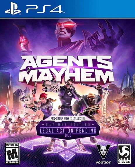Agents Of Mayhem - Ps4 - Nacionakl! Midia Fisica!