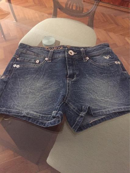 Justice Short Jean Para Niña