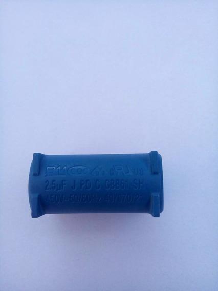 Capacitor Cbb61 2,5 Uf 450 Placa Ar Condicionado Split 2 Pçs