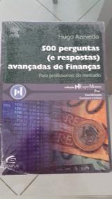 Livro Sobre Educação Financeira - 500 Perguntas Avançadas