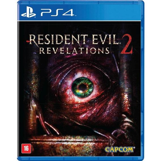 Resident Evil Revelations 2 - Ps4 - Mídia Física - Novo