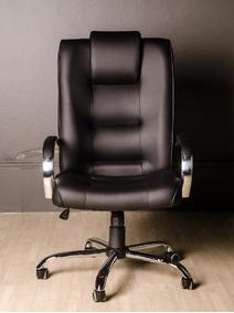 Cadeira Escritório Presidente Classic 140kg Extra Larga