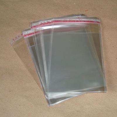 100 Envelopes Plasticos 12,5x12,5 Cm Encarte De Cd