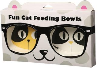 Comedero Bowl Alimento Y Bebedero Mascotas Cocooning Fun Cat