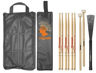 Kit Bag Com01 + Set Baquetas Gospel Liverpool