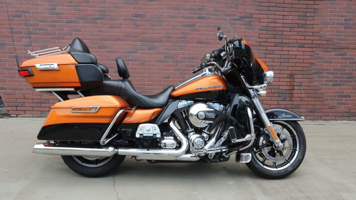 Harley-davidson Ultra Limited 2015 Laranja