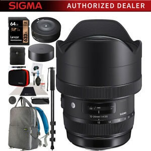 Sigma 12-24mm F4 Dg Hsm Art Lente Para Camaras De Montaje Ni