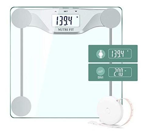 Digital Báscula De Baño Peso Corporal Bmi Peso Exacto Medi