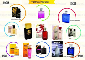 Kit Com 5 Perfumes Paris Elysees 100 Ml Promoção 2019