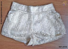 Shorts Feminino Renda Ref. 19730