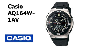 Relógio Casio Aq-164wd-1av Analógico Digital Masculino