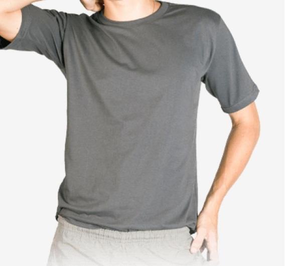 Camiseta Básica Unissex T-shirt 100% Algodão Fio 30.1