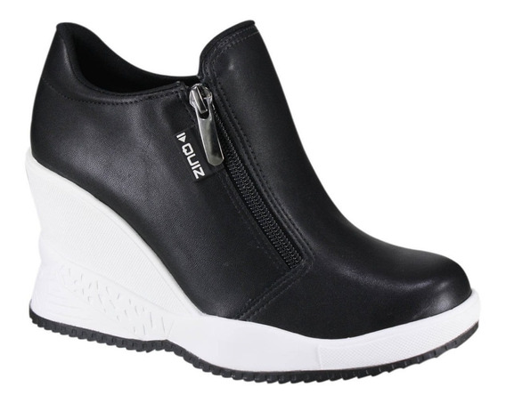 Tênis Feminino Quiz Sneaker Plataforma Sola Alta 67-19903