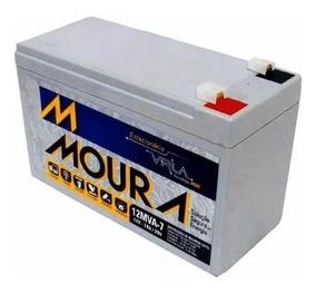 Bateria Moura Vrla Selada 12v 7ah Alarme Envio Imediato