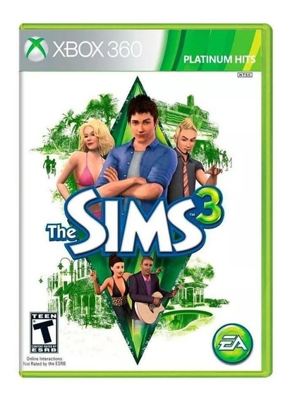 The Sims 3 Xbox 360 Mídia Física Novo Lacrado