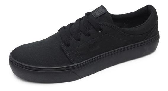 Tênis Dc Shoes Trase Tx Preto Original Promoção