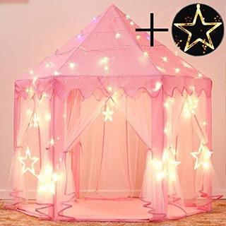 Tienda De Campaña Con Castillo De Princesas Para Niñas Par
