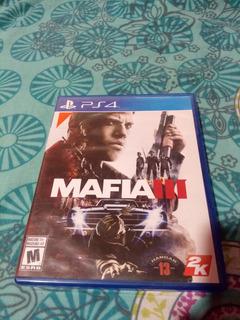 Mafia 3 Fisico Ps4 Original! (con Mapa Y Armas)