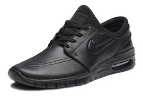 Tênis Nike Sb Stefan Janoski Max L Preto Couro - 685299-009