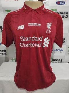 Camisa Liverpool Final Champions League 2019 Virgil 4
