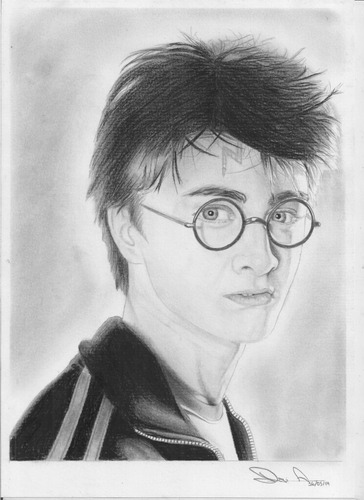 14++ Harry Potter Desenho Realista