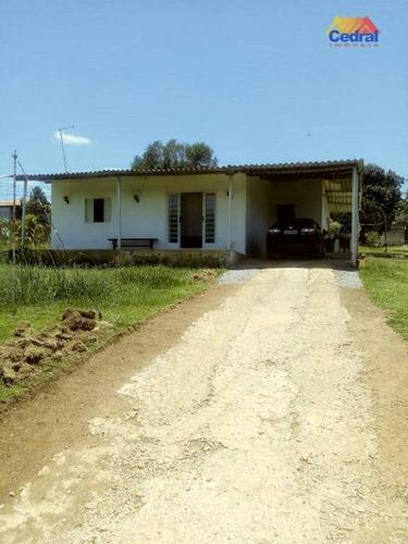 Chácara Com 2 Dormitórios À Venda, 2100 M² Por R$ 485.000,00 - Varinhas - Mogi Das Cruzes/sp - Ch0040