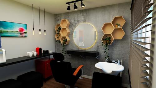 Imagem 1 de 10 de Projeto 3d De Interiores E Móveis Planejados