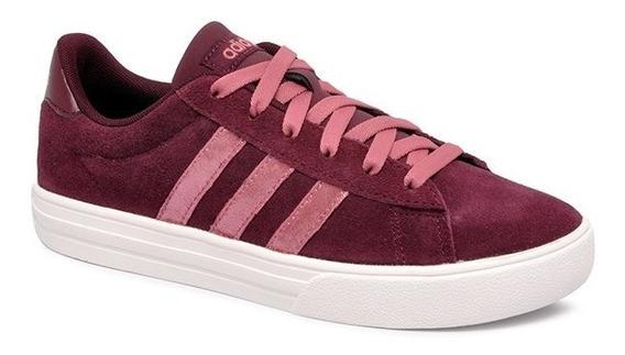 Tênis adidas Daily 2.0 Feminino Bb7368 Bordo/rosa