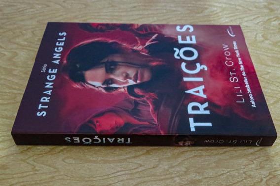 Série Strange Angels Livro Traições De Lili St. Crow