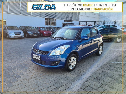 Suzuki Swift Gl 2015 Azul 5 Puertas