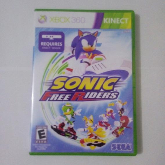 Sonic Free Riders Kinect - Midia Fisica Original Xbox360