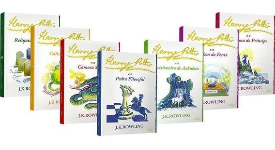 Coleção Harry Potter - 7 Livros - Edição Luxo Capa Branca