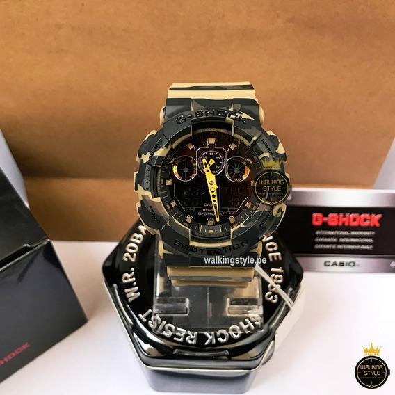 Reloj Casio G-shock Ga100 Y Ga110 - Walkingstyle.pe