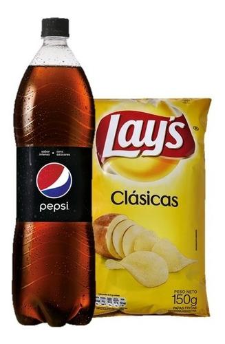 Refresco Pepsi Black 1,5 Lts + Lays Clásicas 150 Gr