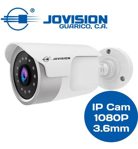 Cámara Bullet Ip 1080p Jovision 2mp 3.6mm Poe Jvsn815