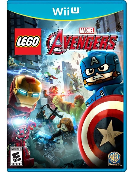 Lego Vingadores Wii U! Loja Campinas