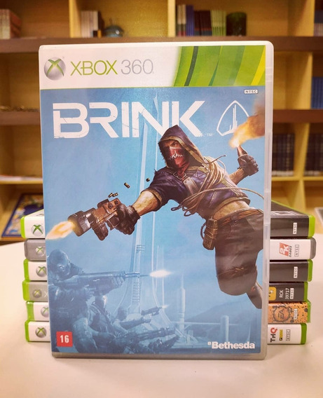 Jogo Brink - Xbox 360 - Mídia Física Original