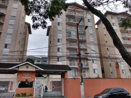 Apartamento Com 2 Dormitórios À Venda, 55 M² - Alves Dias - São Bernardo Do Campo/sp - Ap63601