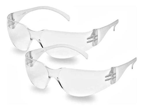 Imagen 1 de 4 de 2 Lentes Protección Antivirus Gafa Goggles Seguridad  Médica
