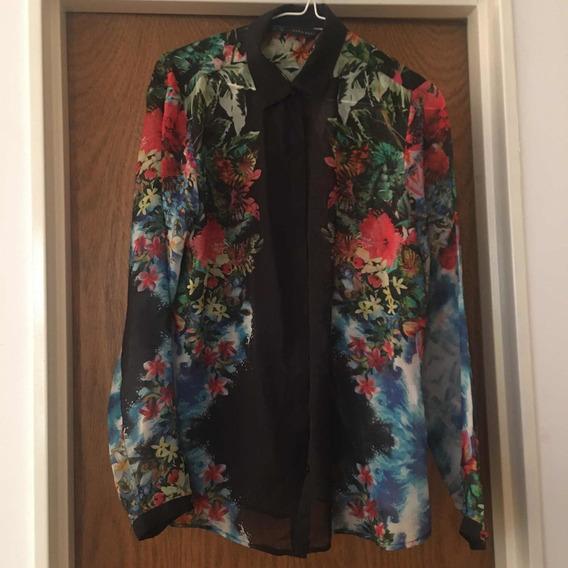 Camisa Gasa Zara Importada